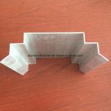 Grand dos, profil rond et différent d'extrusion d'alliage d'aluminium pour la porte et tube 16 de guichet