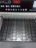 Enregistrer le métal vendant la crémaillère d'étalage de carreau de céramique