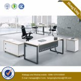 Italy Design Metal Foot Wooden Manager Executive Office Desk (UL-NM016)