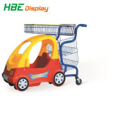 Het Winkelen van de Supermarkt van jonge geitjes/van het Kind het Plastic Karretje van het Stuk speelgoed