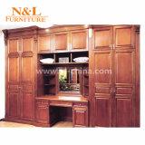 Moderno e elegante em madeira de melamina Abrir Roupeiro para Vestiário