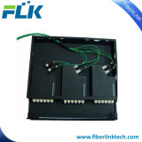 Tableau de connexions de la fibre optique MPO pour la solution de cassette de LC MPO