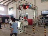 Camion de conteneur examinant le système At2900. de lecture d'inspection de cargaison et de véhicule du rayon X