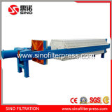 870 Placa de encaixe hidráulico PP Prensa-filtro da máquina para ágar