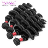 Yvonne la máxima calidad 8brasileño onda sueltos de paquete de cabello humano.