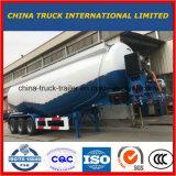 반 세 배 차축 대량 시멘트 트럭 분말 탱크 트레일러