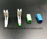 De Snelle die Schakelaar van de optische Vezel voor het Koord van het Flard in Netwerk en Radio wordt toegepast