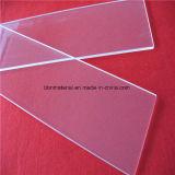 Polido a fogo a placa de vidro de quartzo transparente Limpar vidro de sílica