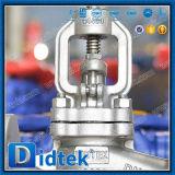 Didtek Bolted Bonnet DIN Stainless Steel Earth Valve