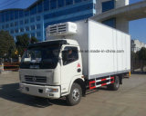 Dongfeng 4X2 Refrigerated o caminhão Van Refrigerated 5t do camião