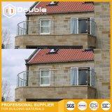 Verre Balustradem Baluster moderne en verre balustrade balcon pour Villa décorer
