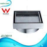 El JD-dB101 Wateramrk nuevo diseño mosaico de la plaza de latón cromado Insertar sumidero