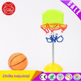 Giocattolo di plastica di mini pallacanestro da tavolino di concorso per i capretti
