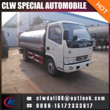 La leche leche fresca de camiones camión cisterna camión tanque de acero inoxidable