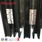 Wärmeisolierung-schalldichte Glasaluminiumfalz-Tür für Haus