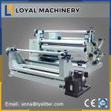 cinta adhesiva de 1600m m que raja la línea máquina automática de la cortadora de Rewinder