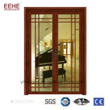 6063 خشب حبة ألومنيوم باب قطاع جانبيّ لأنّ منزل ومكتب غرفة