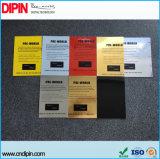 Nuevos productos tecnológicos de grabado láser de doble hoja de plástico ABS de color