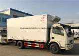 Dongfeng 4X2 Refrigerated тележка Van грузовика Refrigerated 5t