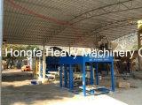 Ziegelstein, der den Maschinen-Kleber-Betonstein-Ziegeleimaschine-Ziegelstein bildet Maschine legt
