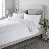 El lujo de satén de algodón blanco de los 80's la ropa de cama de hotel