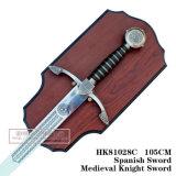 A decoração de espadas medievais espadas cruzadas espadas 105cm HK81028C