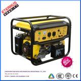 小さい開フレームのタイプ50Hz 5kwガソリン発電機Sh5500X/E