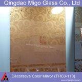 Vetro decorativo dello specchio di colore con i vari reticoli di superficie
