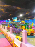 Caravana de Mar del Tren Eléctrico Paseo infantil para el Parque de Atracciones