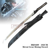 Шпага HK9489 Revengeance Raiden шестерни металла игры поднимая