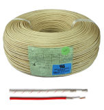 Alambre eléctrico de la fibra de vidrio de la temperatura alta de la UL 5335