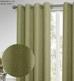 Ligados jacquard 100% poliéster cortinas de cristal