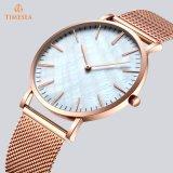 Nouveau style de montres pour hommes en acier inoxydable avec bande de maille 72927