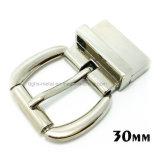 La boucle de courroie réversible en alliage de zinc de Pin de boucle de rouleau en métal de qualité pour la robe ceinture les sacs à main de chaussures de vêtement (XWS-ZD473--ZD556)