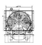 QC385D 14HP 18HP 11kw自動発電機セットのための13.2 Kwのディーゼル機関