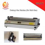 Machine de bureau manuelle Js700 de dispositif d'enduction de colle