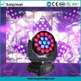 19*15W Osram gira interminable fase de LED de luz en movimiento