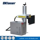 Portátil de plástico de 20W máquina de marcado láser de fibra en China