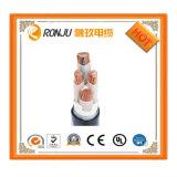 PVC do Cu do núcleo do condutor de alumínio o multi Sheathed o cabo distribuidor de corrente selecionado flexível protegido de Rvvp