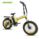 سمين إطار العجلة [250و] [500و] [750و] كهربائيّة درّاجة طيّ