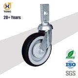 Haute qualité 5'' ascenseur panier roue pivotante