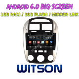 "Witson 9"" на большой экран Android 6.0 DVD для автомобилей KIA Cerato 2007"