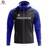 Commercio all'ingrosso lungo di Hoody del manicotto degli uomini poco costosi su ordinazione di nuovo disegno di Dreamfox
