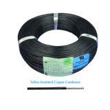 Cobre chapado en plata con aislamiento de PTFE Cable de alta temperatura