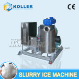 ghiaccio fluido della macchina di ghiaccio dei residui 5000kg/Day per i pesci/barca