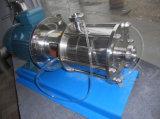 Bomba de emulsión del homogeneizador de la bomba de la emulsión de la bomba del alto esquileo sanitario