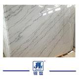 安い中国の高い磨かれた自然なカラーラカウンタートップの壁のカウンタートップを構築する床タイルの平板のステップのためにGuangxiの白くか白いヒスイか彫像用の白いですまたは大理石