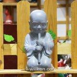 De Hand van de douane - de gemaakte Godsdienstige Leuke Standbeelden van Boedha van de Baby