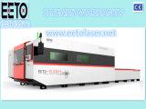 máquina de estaca do metal do laser da fibra 1500W com fonte de laser de Ipg/Raycus