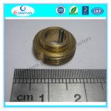 Parafuso de bronze feito à máquina elevada precisão do fechamento do anel de retenção